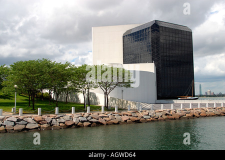John F Kennedy Bibliothek Boston, Massachusetts - Stockfoto