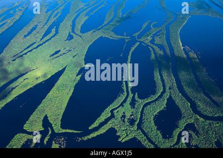 Die Anavilhanas Archipel am Fluss Negro ist die zweite fluvialer größere kommen auf dem Planeten. - Stockfoto