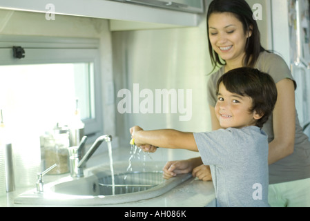 Spülen Mütter