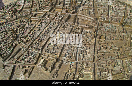 bronze-Miniatur-Stadtplan von Lübeck Stockfoto, Bild: 4700564 - Alamy
