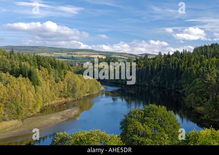 Loch Pitlorchy Pitlochry Perthshire gestaut im Jahr 1950 - Stockfoto