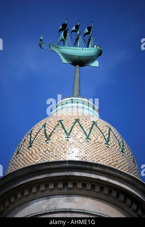 Mayflower Memorial, Southampton, Hampshire, England, Vereinigtes Königreich - Stockfoto