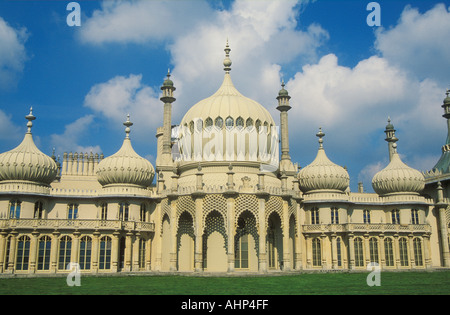 Regency Architektur des berühmten Brighton Royal Pavilion Brighton East Sussex England UK GB EU Europe - Stockfoto