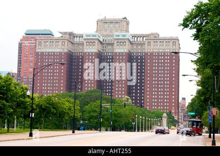 Hilton Hotel in Chicago. Chicago Illinois IL USA - Stockfoto
