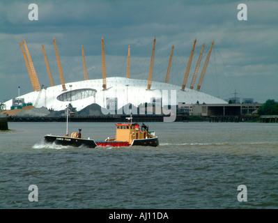 Der Millennium Dome Juli 03. - Stockfoto
