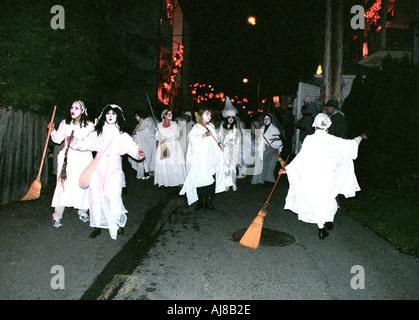 Die Parade der verlorenen Seelen Vancouver BC Kanada - Stockfoto