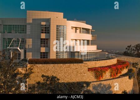 Außenseite des John Paul Getty Center in Los Angeles Kalifornien Vereinigte Staaten - Stockfoto