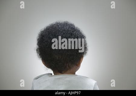 Rückansicht der Kopf des Babys - Stockfoto