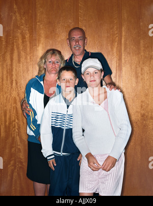 Proll-Familie - Stockfoto