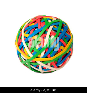 Gummiband-ball - Stockfoto