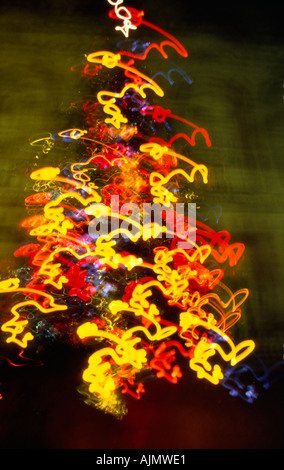 Weihnachtsbeleuchtung - Stockfoto