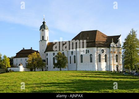 Deutschland-Bayern-Wieskirche-Pfaffenwinckel - Stockfoto