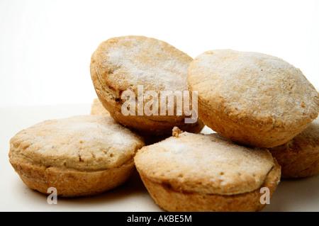 Stapel von Mince pies - Stockfoto