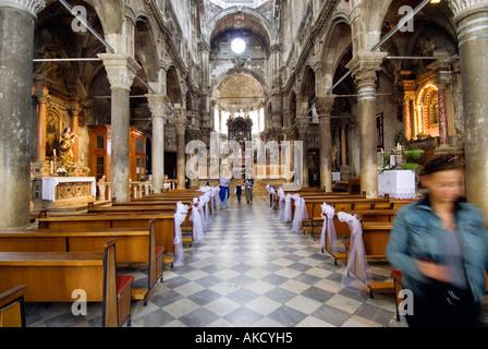Süd-Ost-Europa, Kroatien, Sibenik, Kathedrale St. Jacob James - Stockfoto