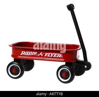 Klassische rote Wagen - Stockfoto