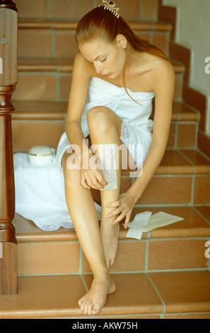 Mädchen wachsen Beine - Stockfoto