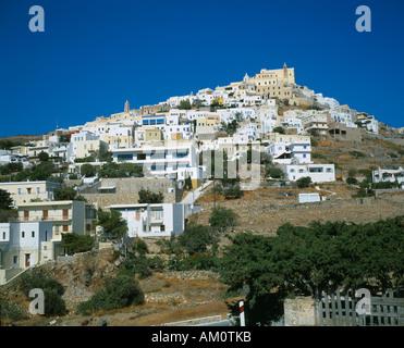 Griechenland-Kykladen-Inseln Syros - Stockfoto