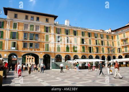 Placa wichtigen, historischen alten Stadt, Palma, Mallorca, Spanien - Stockfoto