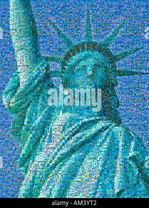 digitale collage americana stockfoto bild 8303302 alamy. Black Bedroom Furniture Sets. Home Design Ideas