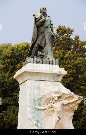 Auguste Rodin - Denkmal für Präsident Domingo F. Sarmiento für Buenos Aires, Argentinien. 1894-1900 - Stockfoto