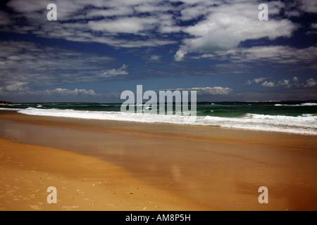 Strand an einem Sommertag - Stockfoto