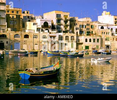 MT - MALTA: Spinola Hafen von Saint Julian - Stockfoto