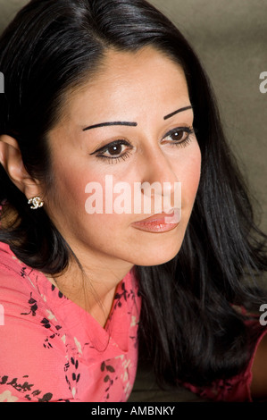 Schöne Reife Mexican lady - Stockfoto