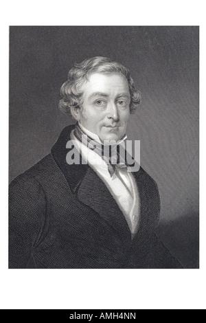 SIR ROBERT PEEL die jüngere britischen Staatsmann Premierminister 1788 1850 Recht Honourable 2. Baronet Gründer - Stockfoto