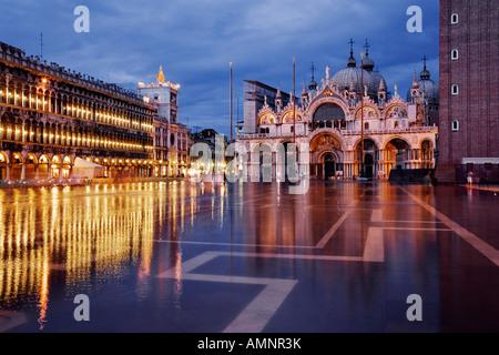 Der Markusplatz, Venedig, Italien - Stockfoto