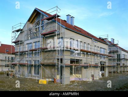 Haus im Bau - Stockfoto
