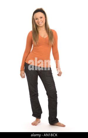 Porträt eines Mädchens - Stockfoto
