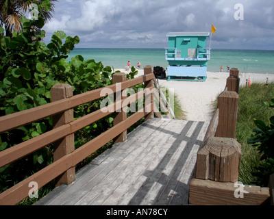 Miami Beach, Florida, Vereinigte Staaten - Stockfoto