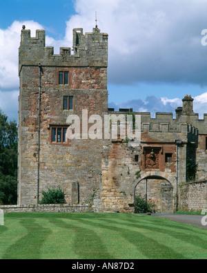 Naworth Castle, Brampton, Cumbria, England. - Stockfoto