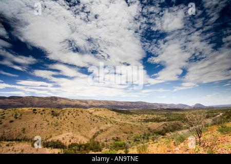 West Macdonnell Mountain Range Northern Territory Australien - Stockfoto