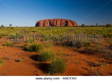 Northern Territory Australien Ayers Rock Uluru Kata Tjuta National Park - Stockfoto