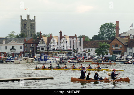 Henley Royal Regatta Oxfordshire Großbritannien - Stockfoto