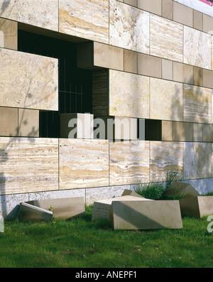 Staatsgalerie, Stuttgart (1977-84) - Kunst-Galerie, Museum und civic Center. Architekt: Stirling und Wilford - Stockfoto