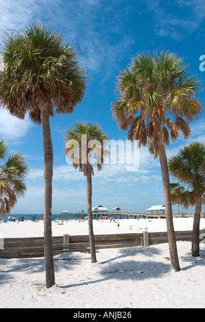 Pier 60, Clearwater Beach, Golfküste, Florida, USA - Stockfoto