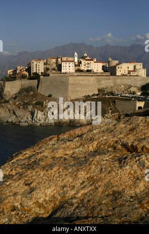 Zitadelle von Calvi, Calvi, Korsika, Frankreich - Stockfoto