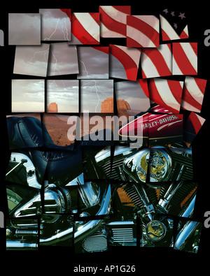 USA: Der amerikanische Traum - Stockfoto