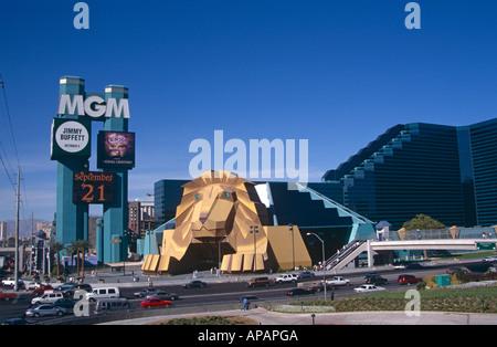 MGM Grand Hotel and Casino, Las Vegas, Nevada, USA - Stockfoto
