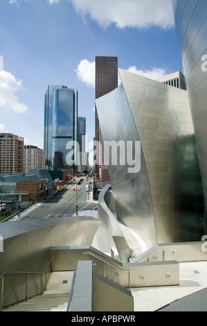 Disney Hall moderne Architektur Downtown Los Angeles California USA Frank Geary - Stockfoto