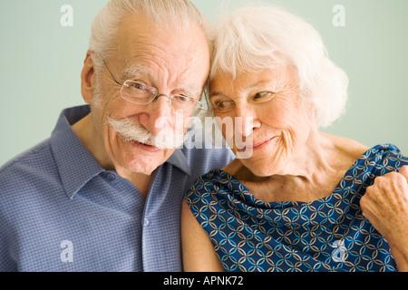 Porträt von liebevollen älteres paar - Stockfoto
