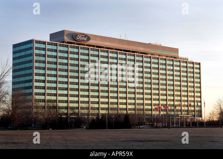 Welthauptquartier der Ford Motor Company in Dearborn, Michigan USA - Stockfoto