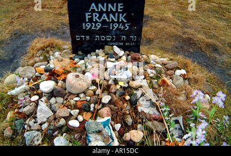 Anne frank belsen - Stockfoto