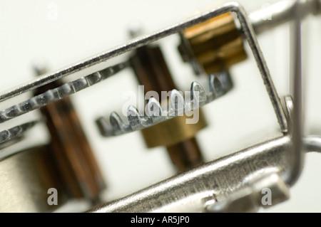 Nahaufnahme von mechanischen Geräten - Stockfoto