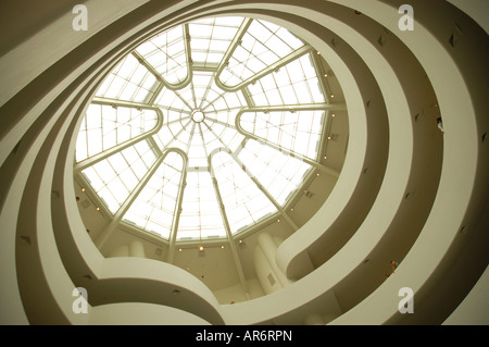 Solomon R Guggenheim Museum New York USA - Stockfoto