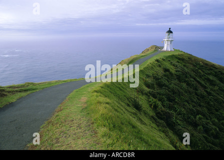 Leuchtturm, Cape Reinga, Northland, North Island, Neuseeland, Pazifik - Stockfoto
