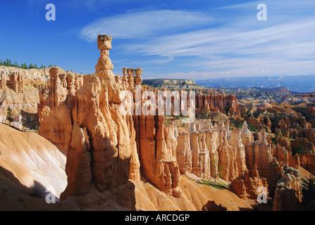Thors Hammer aus der Navajo Loop Trail, Bryce-Canyon-Nationalpark, Utah, USA - Stockfoto