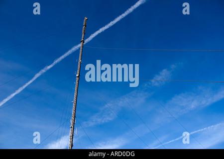 Princetown mast - Stockfoto